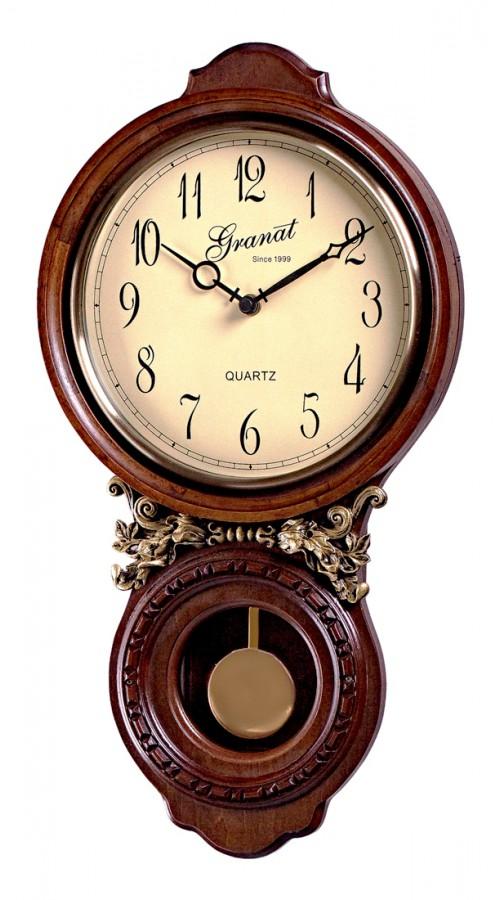 Настенные часы с маятником Baccart