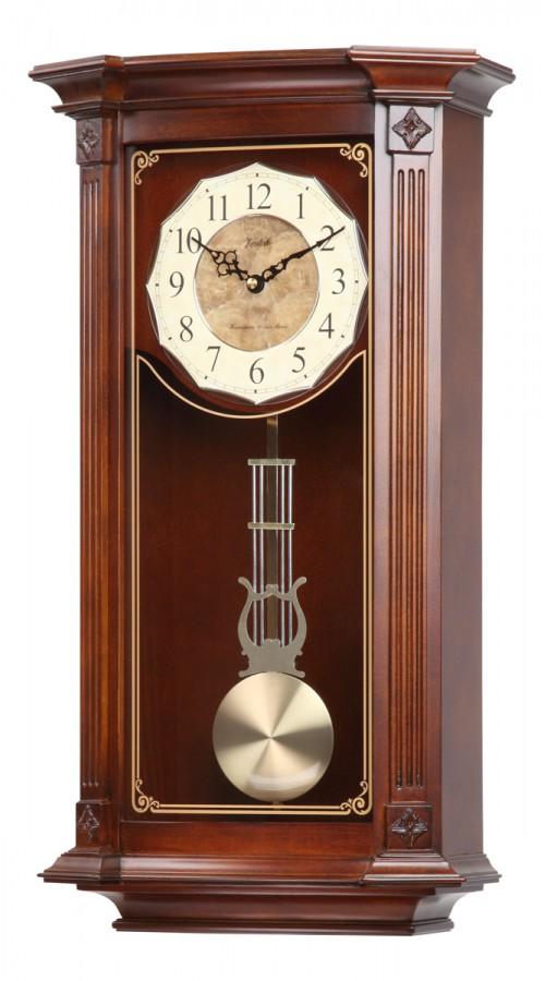 Настенные часы с боем кварцевые из дерева